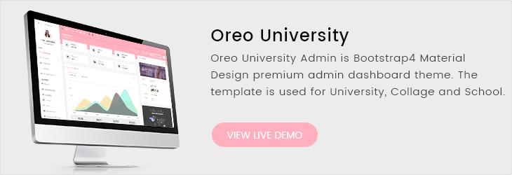 Oreo Admin